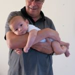 Day 95 - Hanging out with (on) Grandpa